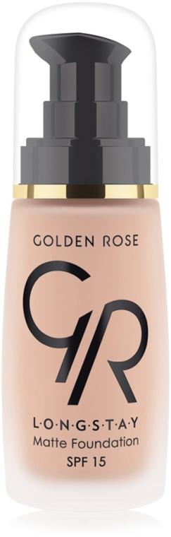 Fondotinta opacizzante - Golden Rose Longstay Matte Foundation