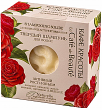 """Profumi e cosmetici Shampoo """"Crescita attiva e volume"""" - Le Cafe de Beaute Solid Shampoo"""