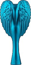 Profumi e cosmetici Spazzola-angelo compatta, turchese - Tangle Angel Cherub Total! Turquoise Professional Detangling Brush