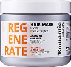 Profumi e cosmetici Maschera capelli danneggiati - Romantic Professional Helps to Regenerate Hair Mask