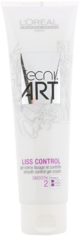 Crema-gel modellante per capelli - L'oreal Professionnel Tecni.art Liss Control — foto N1