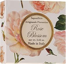 """Profumi e cosmetici Sapone naturale """"Rosa"""" - Saponificio Artigianale Fiorentino Rose Blossom Soap"""