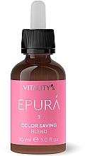 """Profumi e cosmetici Concentrato per capelli """"Protezione del colore"""" - Vitality's Epura Color Saving Blend"""