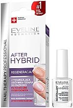 Profumi e cosmetici Condizionante rassodante per unghie - Eveline Cosmetics After Hybrid Manicure