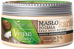 "Profumi e cosmetici Burro corpo ""Karité"" - Bielenda Vegan Friendly Shea Body Butter"