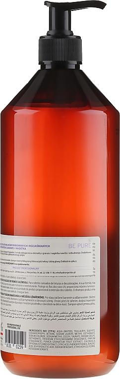Shampoo protettivo per capelli colorati e decolorati - Niamh Hairconcept Be Pure Protective Shampoo — foto N2