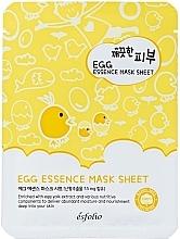 Profumi e cosmetici Maschera viso in tessuto all'uovo - Esfolio Pure Skin Egg Essence Mask Sheet