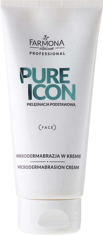 Crema micro-peeling - Farmona Professional Pure Icon Microdermabrasion Cream