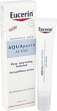 Profumi e cosmetici Crema rivitalizzante contorno occhi - Eucerin AquaPorin Active Deep Long-lasting Hydration Revitalising Eye Cream