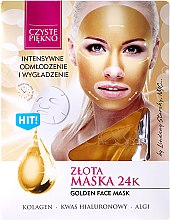 """Profumi e cosmetici Maschera viso """"Dorato"""" - Czyste Piekno Gold Face Mask"""