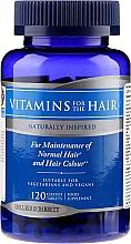 Profumi e cosmetici Complesso vitaminico e minerale per capelli, 120 pz - Holland & Barrett Vitamins For The Hair