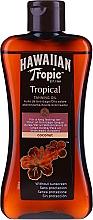 Profumi e cosmetici Lozione accelerante di abbronzatura - Hawaiian Tropic Coconut Tropical Tanning Oil