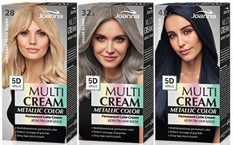 Tinta per capelli - Joanna Multi Cream Color Metallic