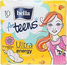 Profumi e cosmetici Assorbenti For Teens Ultra Energy, 10 pz - Bella
