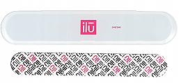 Profumi e cosmetici Lima per unghie con custodia - Ilu Nail File With Case Medium 240/240