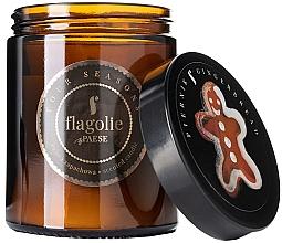 """Profumi e cosmetici Candela profumata in barattolo """"Gingerbread"""" - Flagolie Fragranced Candle Gingerbread"""