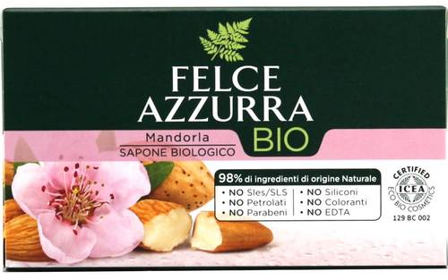 "Sapone ""Mandorla"" - Felce Azzurra Bio Mandorla Soap — foto N1"