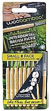 Profumi e cosmetici Mini set di spazzolini, 8 pz. - Woobamboo Toothbrush Interdental Brush Picks Small