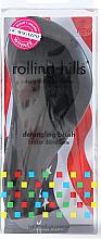 Profumi e cosmetici Spazzola per capelli nera - Rolling Hills Detangling Brush Travel Size Sky Black