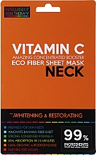 Profumi e cosmetici Maschera express per il collo - Beauty Face IST Whitening & Restorating Neck Mask Vitamin C