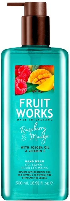 "Sapone mani ""Lampone e Mango"" - Grace Cole Fruit Works Hand Wash Raspberry & Mango — foto N1"