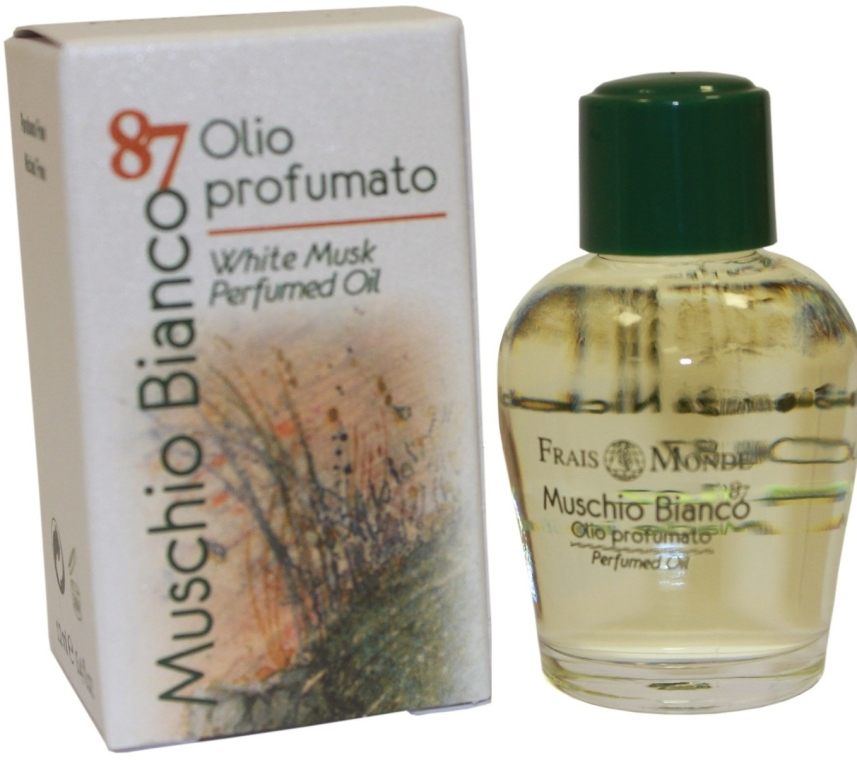 "Olio profumato ""Muschio bianco"" - Frais Monde White Musk Perfumed Oil"