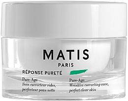 Profumi e cosmetici Crema antirughe - Matis Reponse Purete Pure-Age