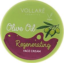 Profumi e cosmetici Crema rigenerante all'olio d'oliva - Vollare Regenerating Olive Oil Face Cream
