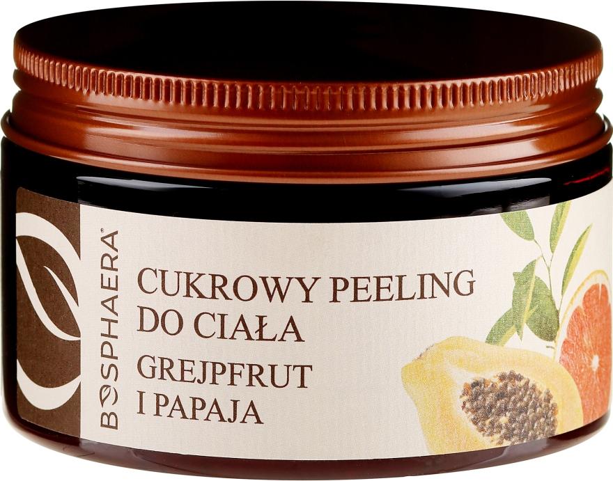 "Peeling corpo allo zucchero ""Pompelmo e papaia"" - Bosphaera"