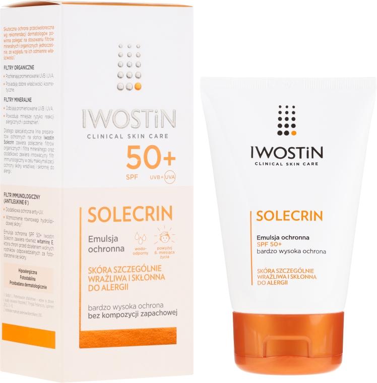 Emulsione protettiva SPF50 + - Iwostin Solecrin Emulsion SPF50+