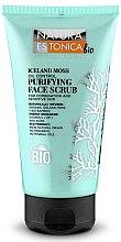Profumi e cosmetici Scrub detergente viso, muschio islandese - Natura Estonica Iceland Moss Face Scrub