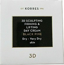 Profumi e cosmetici Crema viso da giorno - Korres 3D Scuplting, Firming & Lifting Day Cream Dry And Very Dry Skin
