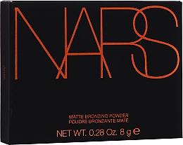Profumi e cosmetici Terra abbronzante opaca - Nars Matte Bronzing Powder