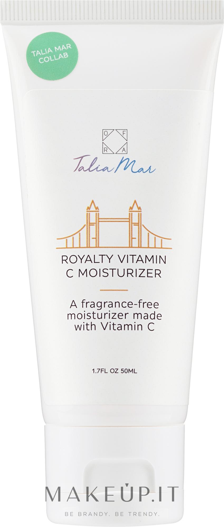 Crema viso idratante alla vitamina C - Ofra Talia Mar Royalty Vitamin C Moisturizer — foto 50 ml