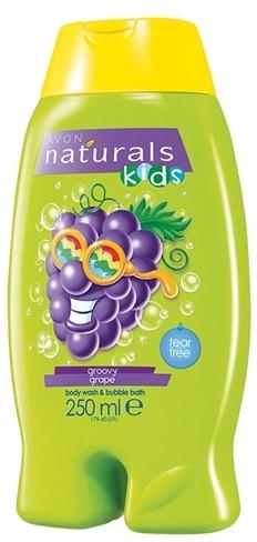 Gel doccia e bagnoschiuma 2in1 per bambini - Avon Naturals Kids Groovy — foto N1