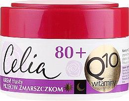 Profumi e cosmetici Crema antirughe - Celia Q10 Face Cream 80+
