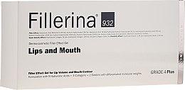 Profumi e cosmetici Gel labbra volumizzante, livello 4 - Fillerina Lips And Mouth Grade 4 Plus