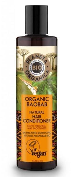 Balsamo rinforzante per capelli - Planeta Organica Organic Baobab Natural Hair Conditioner