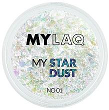Profumi e cosmetici Polline per unghie - MylaQ My Star Dust