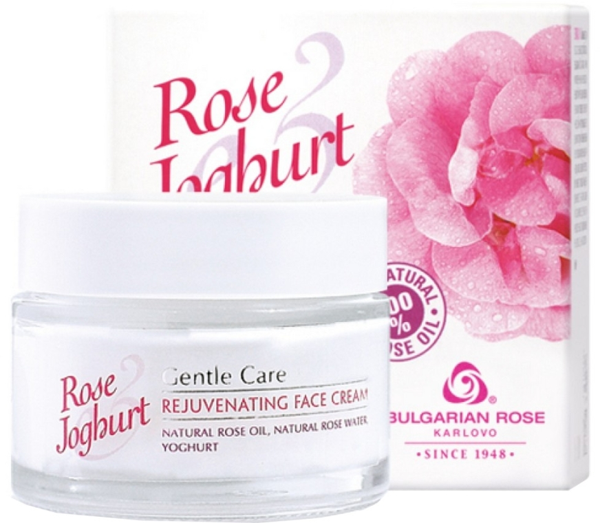 Crema rigenerante viso - Bulgarian Rose Rose & Joghurt Rejuvenating Face Cream — foto N1