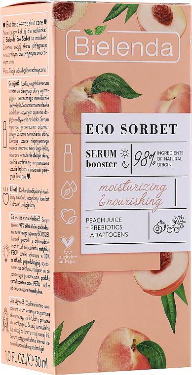 Siero viso idratante e nutriente - Bielenda Eco Sorbet Moisturizing & Nourishing Serum Booster
