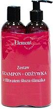 Profumi e cosmetici Set - _Element Snail Slime Filtrate (shampoo/150ml+cond/150ml)