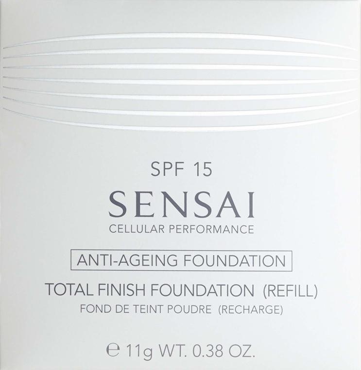 Fondotinta compatta - Kanebo Sensai Cellular Performance Total Finish Foundation (ricarica) — foto N2
