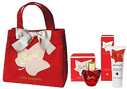 Profumi e cosmetici Lolita Lempicka Sweet - Set (edp/50 + b/lot/75ml + bag)