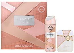 Profumi e cosmetici Armaf Le Parfait Pour Femme - Set (edp/100ml + deo/spray/200ml)