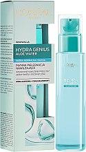 Profumi e cosmetici Trattamento idratante per pelli normali e secche - L'Oreal Paris Hydra Genius Aloe Water