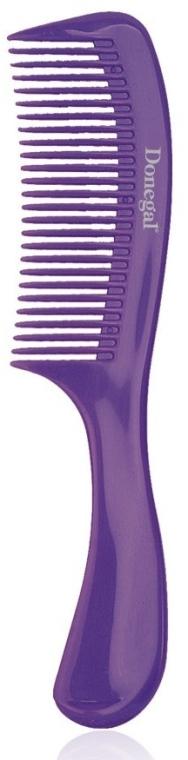Pettine per capelli 21 cm, viola - Donegal Hair Comb — foto N1
