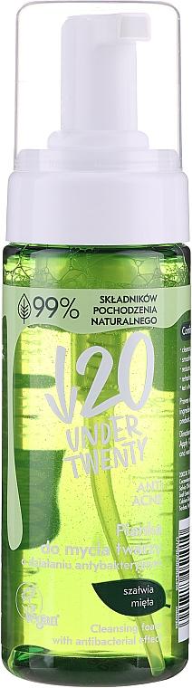 Schiuma antibatterica viso - Under Twenty Anti Acne Antibacterial Foam
