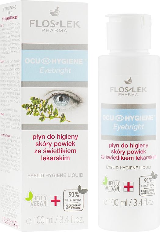 Fluido igienico per palpebre con estratto di erbe - Floslek Eyebright Eyelid Hygiene Liquid