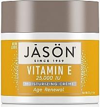 Profumi e cosmetici Crema viso e corpo rigenerante con vitamina E - Jason Natural Cosmetics Age Renewal Vitamin E